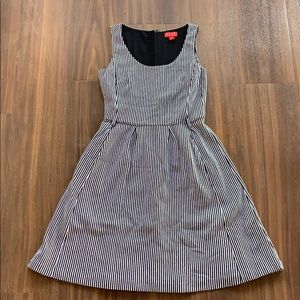 Elle Striped Scoopneck Dress